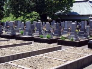 先祖累代墓地の区画