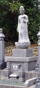 合祀墓地の区画
