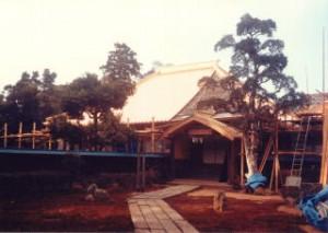 瓦の屋根(葺き替え後)