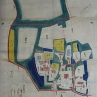 医王寺境内の古地図