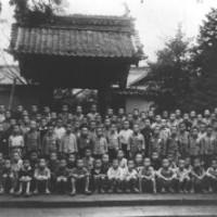 蒲田国民学校の児童たち